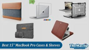 Best 15-inch MacBook Pro 2016-2017 Sleeves and Cases