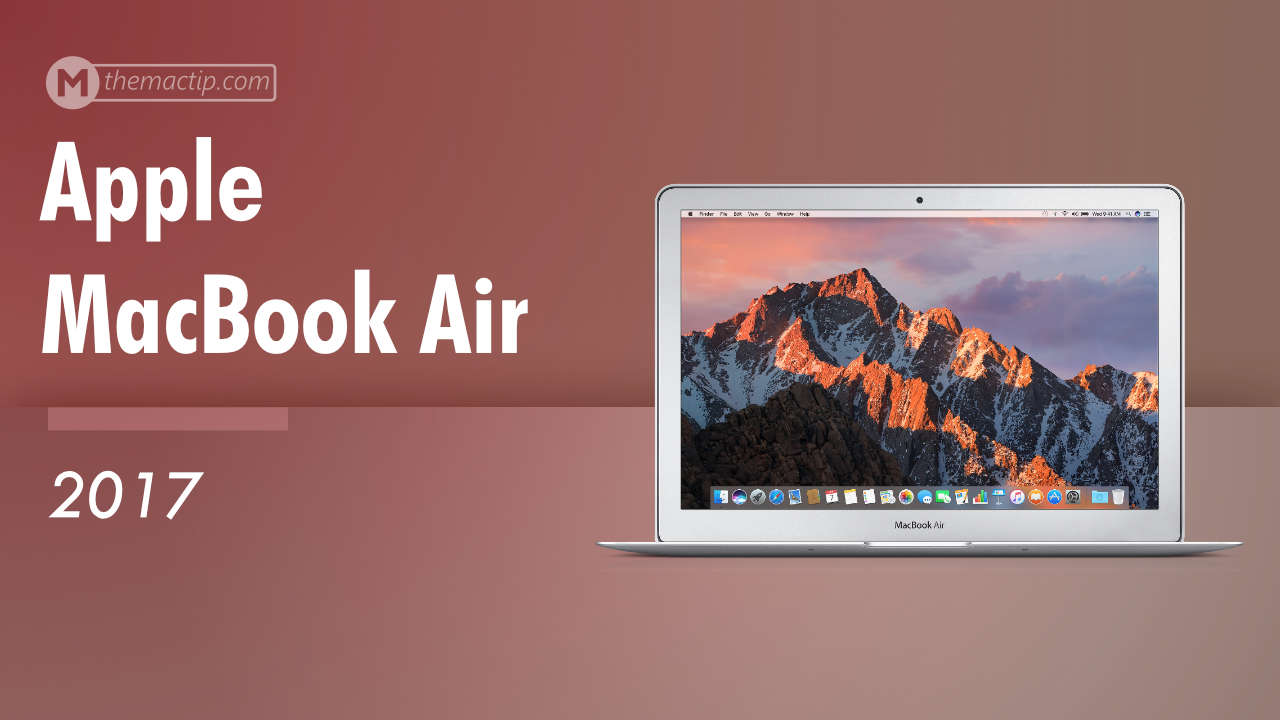 MacBook Air 2017 Specs