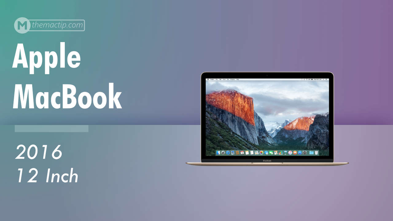Apple MacBook 2016 Specs